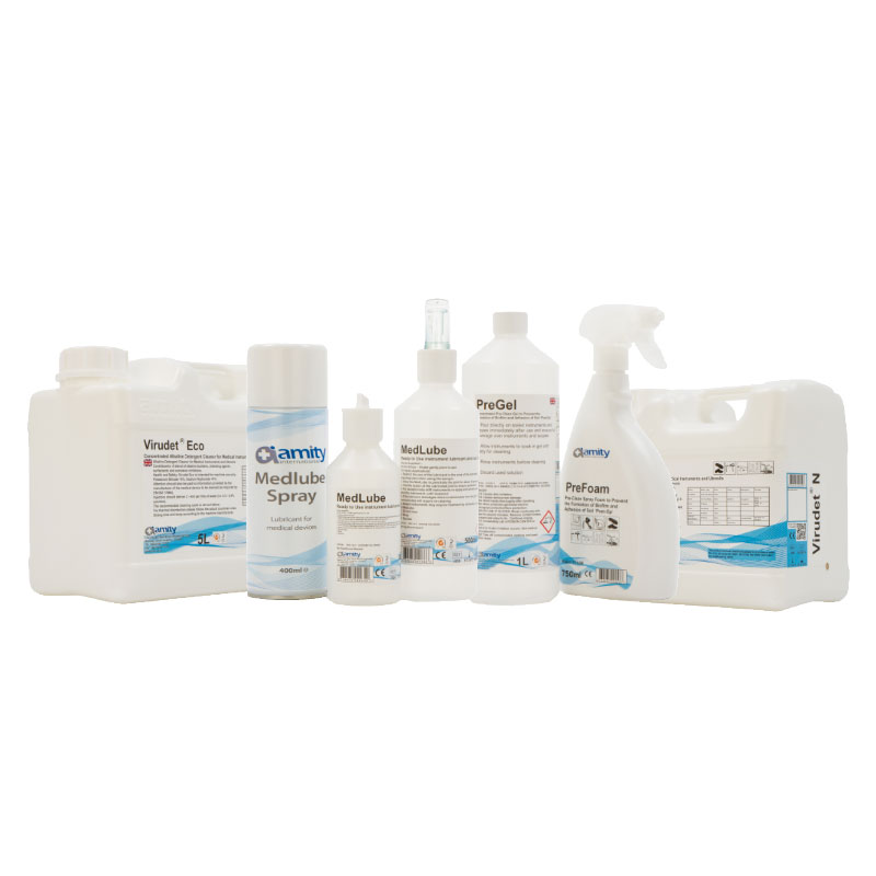 Detergents for Cleaning of Surgical Instruments